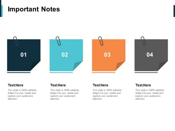 Important Notes Ppt PowerPoint Presentation Slides Themes