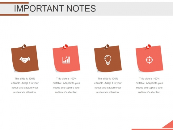 Important Notes Ppt PowerPoint Presentation Visual Aids
