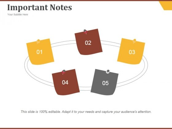 Important Notes Ppt PowerPoint Presentation Visuals