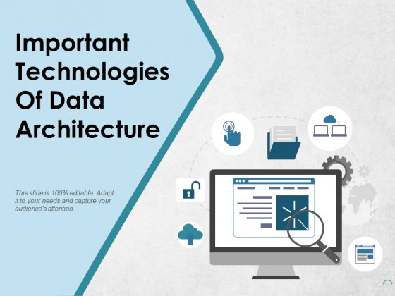 Important Technologies Of Data Architecture Ppt PowerPoint Presentation Show Inspiration