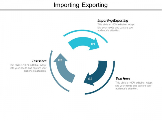 Importing Exporting Ppt PowerPoint Presentation Summary Gallery Cpb
