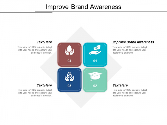 Improve Brand Awareness Ppt PowerPoint Presentation Slides Styles