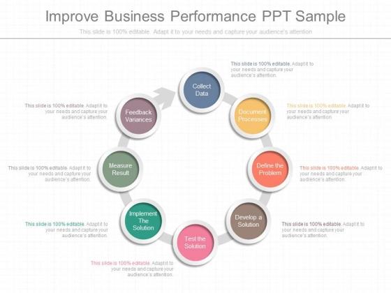 Improve Business Performance Ppt Sample