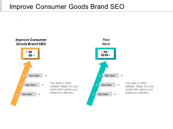 Improve Consumer Goods Brand SEO Ppt PowerPoint Presentation Infographic Template Slides Cpb