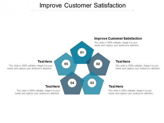 Improve Customer Satisfaction Ppt PowerPoint Presentation Clipart Cpb
