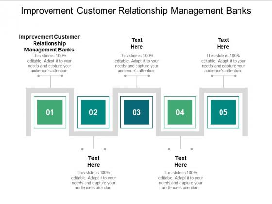 Improvement Customer Relationship Management Banks Ppt PowerPoint Presentation Slides Example Cpb Pdf