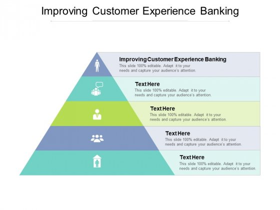 Improving Customer Experience Banking Ppt PowerPoint Presentation Icon Infographics Cpb