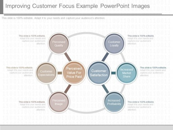 Improving Customer Focus Example Powerpoint Images
