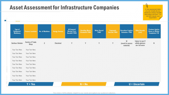 Improving Operational Activities Enterprise Asset Assessment For Infrastructure Companies Microsoft PDF
