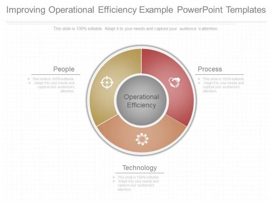 Improving Operational Efficiency Example Powerpoint Templates