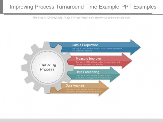 Improving Process Turnaround Time Example Ppt Examples