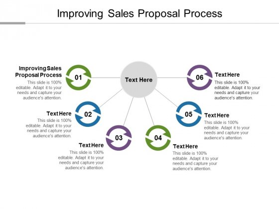Improving Sales Proposal Process Ppt PowerPoint Presentation Inspiration Information Cpb