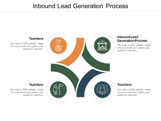 Inbound Lead Generation Process Ppt PowerPoint Presentation File Background Image Cpb