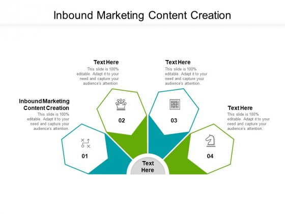 Inbound Marketing Content Creation Ppt PowerPoint Presentation Infographic Template Images Cpb Pdf