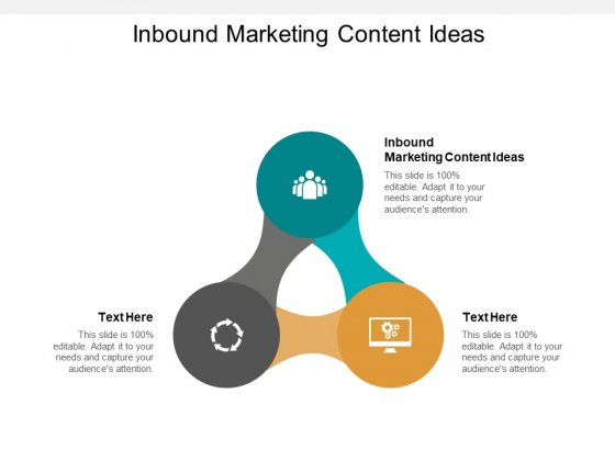 Inbound Marketing Content Ideas Ppt PowerPoint Presentation Slides Examples Cpb