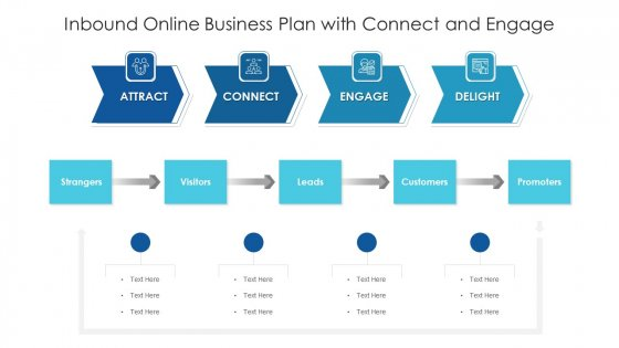 Inbound Online Business Plan With Connect And Engage Ppt Professional Designs Download PDF