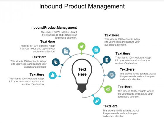 Inbound Product Management Ppt PowerPoint Presentation Pictures Inspiration Cpb