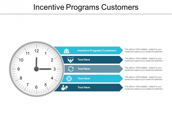 Incentive Programs Customers Ppt PowerPoint Presentation Slides Information Cpb