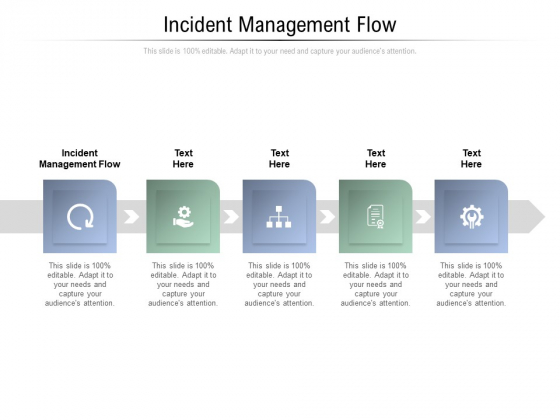 Incident Management Flow Ppt PowerPoint Presentation Icon Template Cpb Pdf