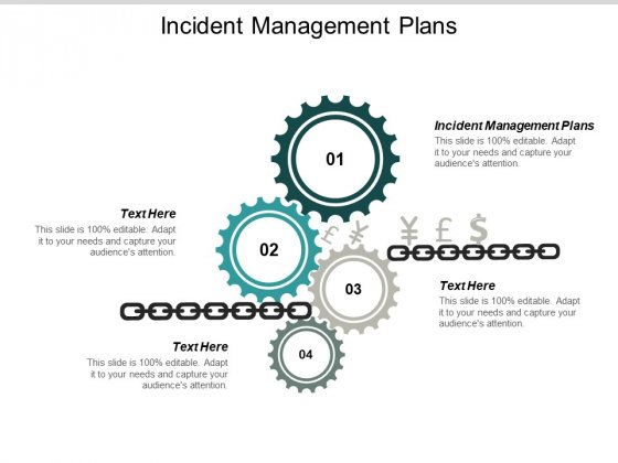 Incident Management Plans Ppt PowerPoint Presentation Visual Aids Icon Cpb