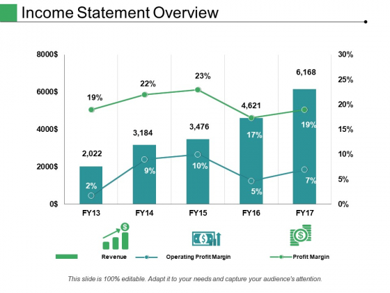 Income Statement Overview Ppt PowerPoint Presentation File Structure
