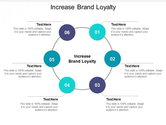 Increase Brand Loyalty Ppt PowerPoint Presentation Layouts Background Cpb