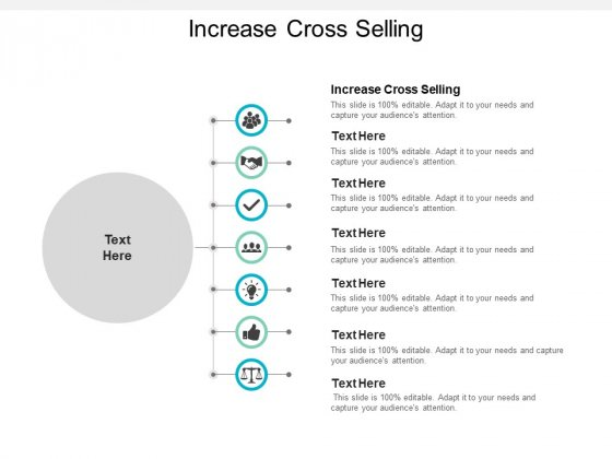 Increase Cross Selling Ppt PowerPoint Presentation Pictures Background Images Cpb