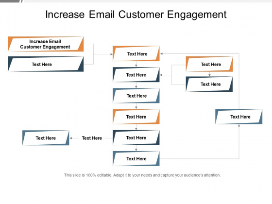 Increase Email Customer Engagement Ppt PowerPoint Presentation Show Rules Cpb Pdf