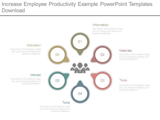 Increase Employee Productivity Example Powerpoint Templates Download