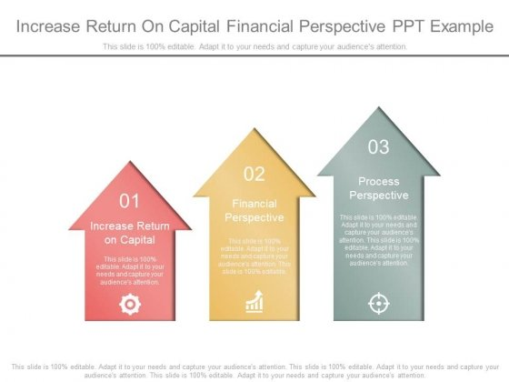 Increase Return On Capital Financial Perspective Ppt Example