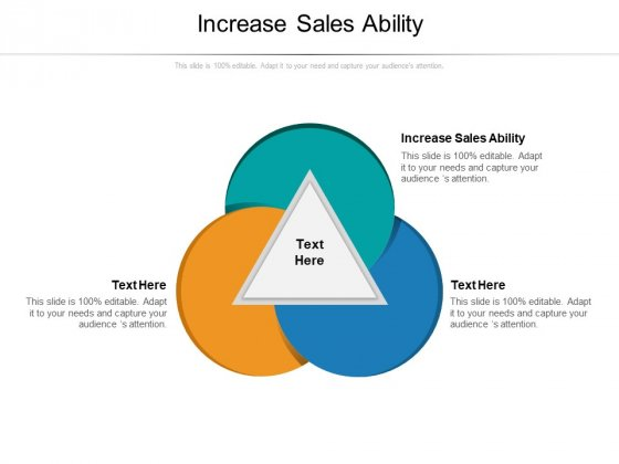 Increase Sales Ability Ppt PowerPoint Presentation Gallery Inspiration Cpb Pdf