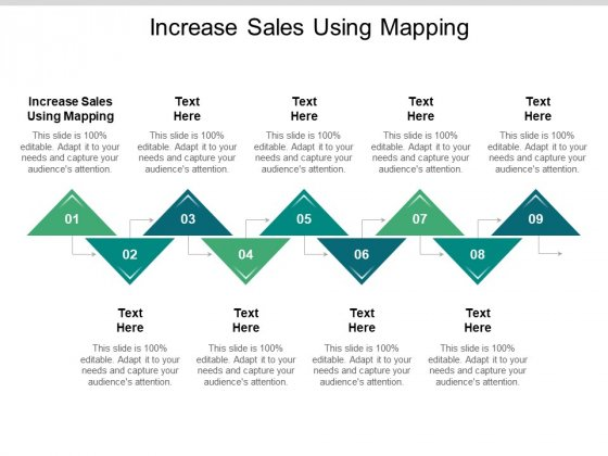 Increase Sales Using Mapping Ppt PowerPoint Presentation Professional Graphics Download Cpb Pdf