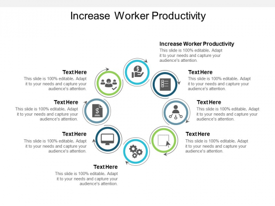 Increase Worker Productivity Ppt PowerPoint Presentation Layouts Example Introduction