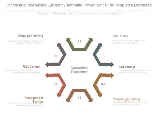 Increasing Operational Efficiency Template Powerpoint Slide Templates Download