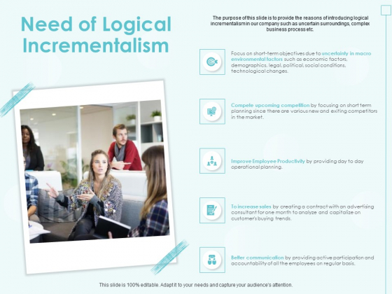 Incremental Planning In Decision Making Need Of Logical Incrementalism Topics PDF