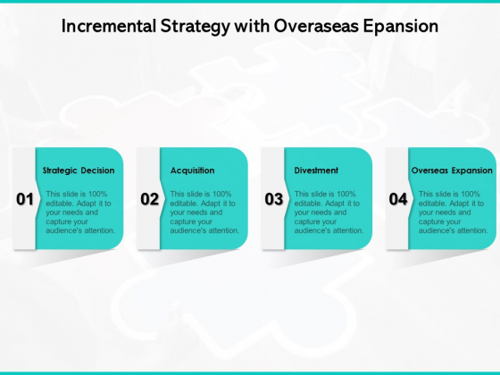 Incremental Strategy With Overaseas Epansion Ppt PowerPoint Presentation File Layouts PDF
