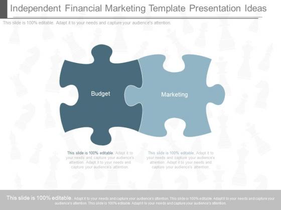 Independent Financial Marketing Template Presentation Ideas