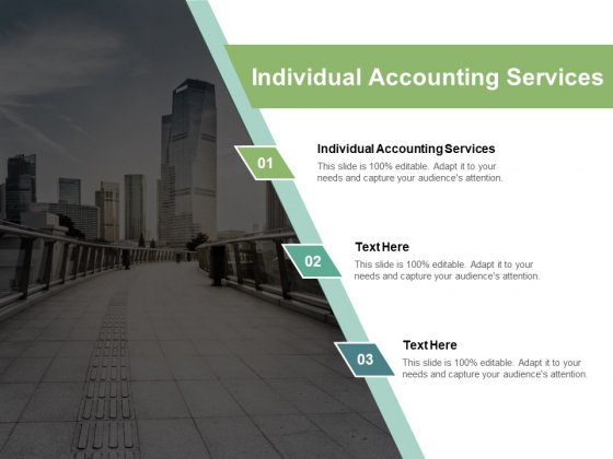 Individual Accounting Services Ppt PowerPoint Presentation Model Styles Cpb Pdf