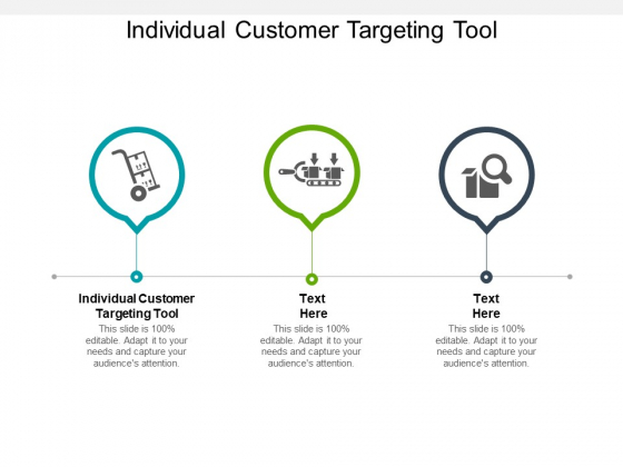 Individual Customer Targeting Tool Ppt PowerPoint Presentation Show Layout Ideas Cpb
