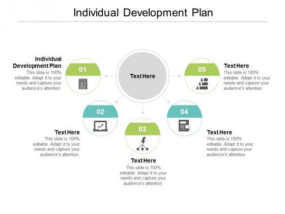 Individual Development Plan Ppt PowerPoint Presentation Portfolio Styles Cpb