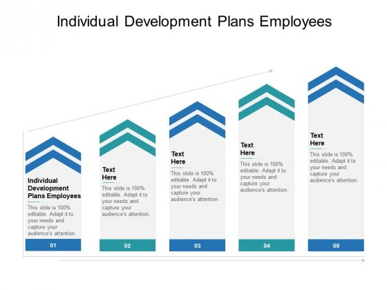 Individual Development Plans Employees Ppt PowerPoint Presentation Shapes Cpb