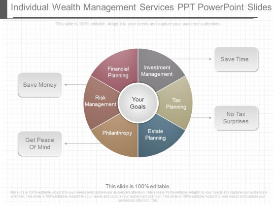 Individual Wealth Management Services Ppt Powerpoint Slides