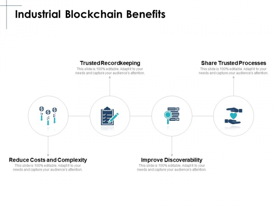 Industrial Blockchain Benefits Ppt PowerPoint Presentation Layouts Clipart