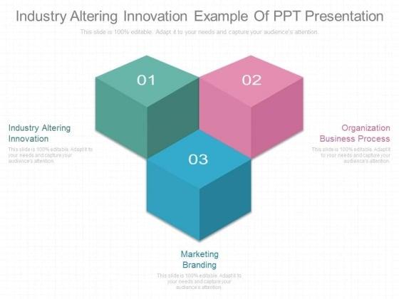 Industry Altering Innovation Example Of Ppt Presentation