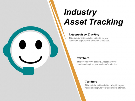 Industry Asset Tracking Ppt PowerPoint Presentation Icon Influencers Cpb