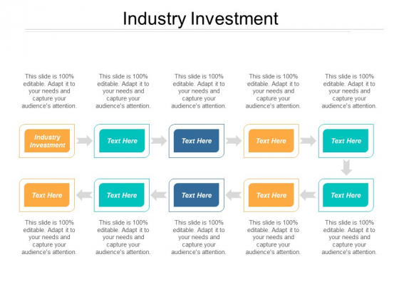 Industry Investment Ppt PowerPoint Presentation Layouts Example Introduction
