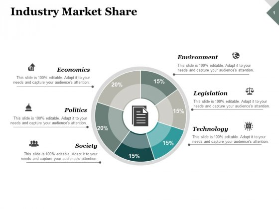 Industry Market Share Ppt PowerPoint Presentation Summary Slide Download