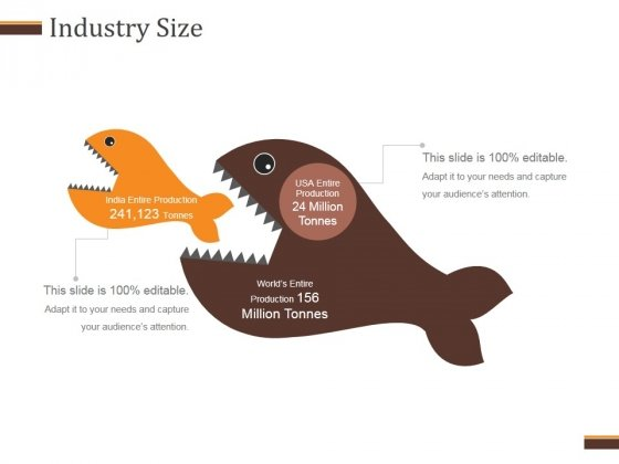 Industry Size Template 1 Ppt PowerPoint Presentation Infographic Template