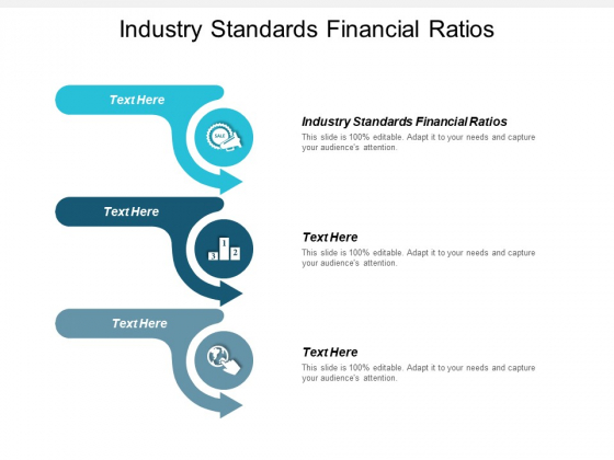 Industry Standards Financial Ratios Ppt PowerPoint Presentation Portfolio Images Cpb