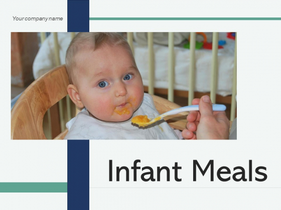 Infant Meals Icon Showing Ppt PowerPoint Presentation Complete Deck